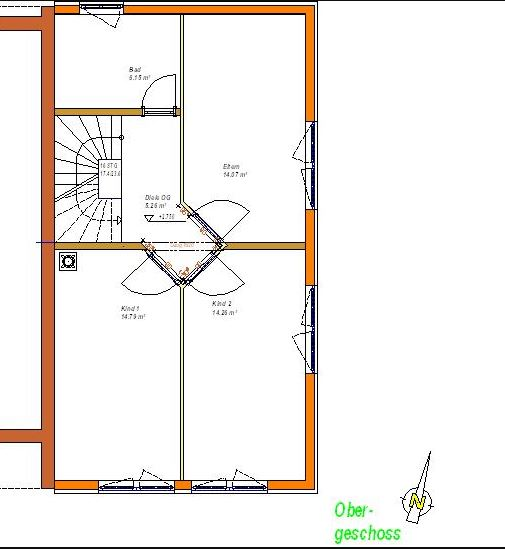 Link zum Planungsdetail Obergeschoss