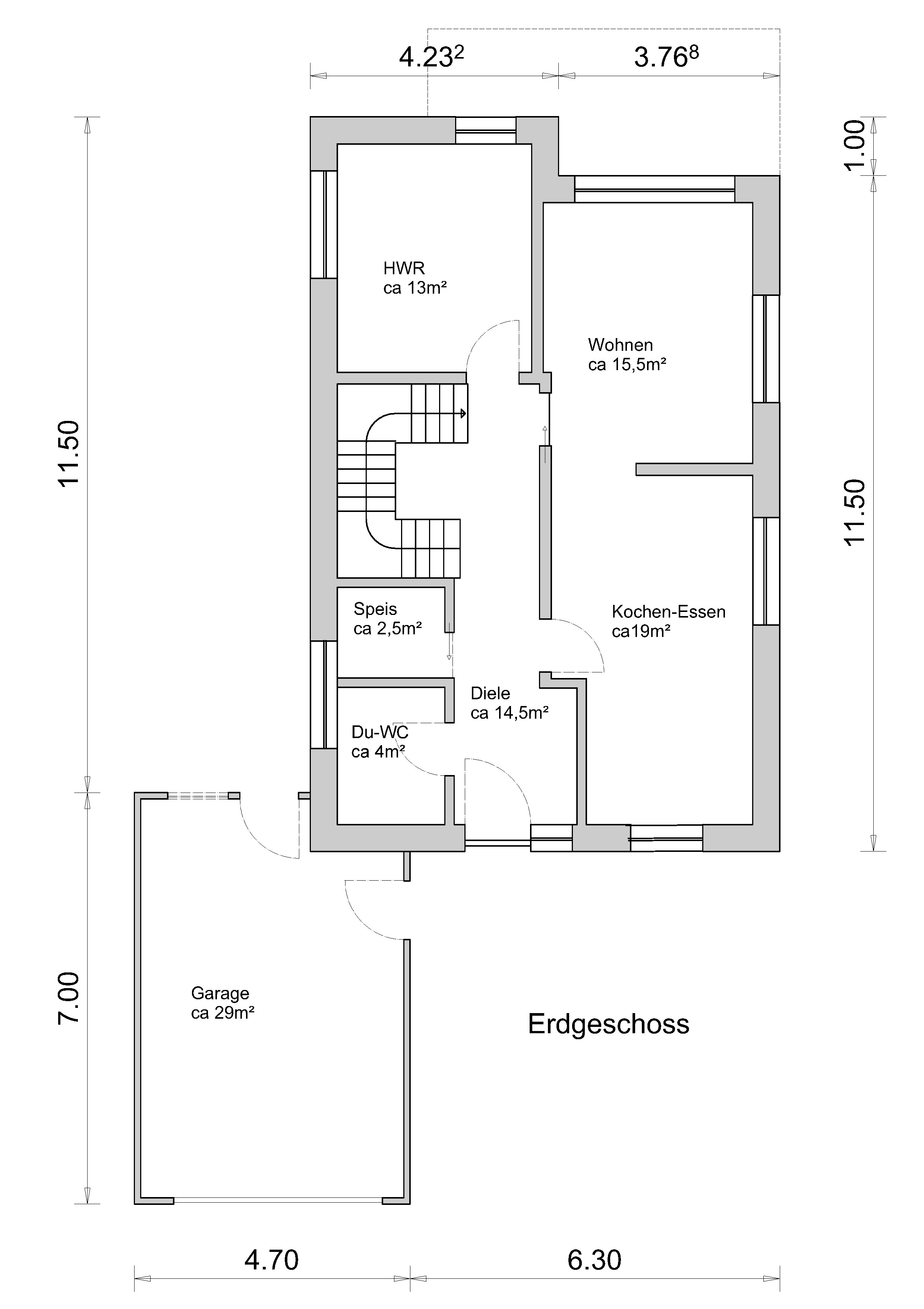 Link zum Planungsdetail Erdgeschoss